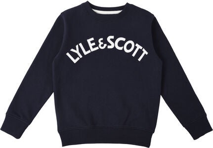 Lyle & Scott Junior Crew Neck Paita, Navy Blazer