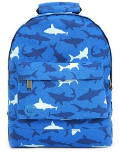Mi-Pac Mini Sharks Reppu, Blue
