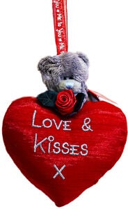 Me To You Pehmolelu Love And Kisses 13 cm