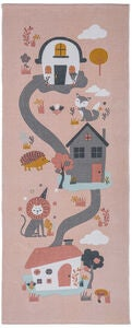 Alice & Fox Matto Houses, Pink