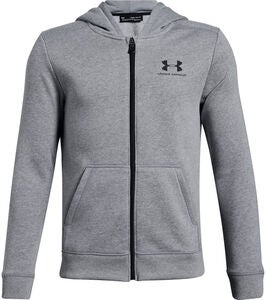 Under Armour Fleece FZ Huppari, Steel