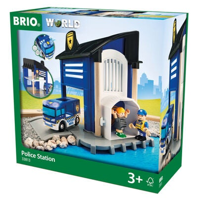 BRIO World 33813 Poliisiasema