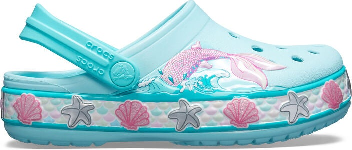 Crocs Mermaid Band Clog Sandaalit, Ice Blue