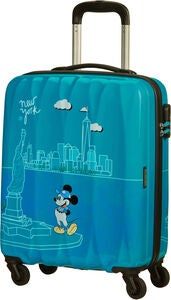 American Tourister Alfatwist 2.0 Spinner Matkalaukku 36L, Take Me Away Mickey Nyc