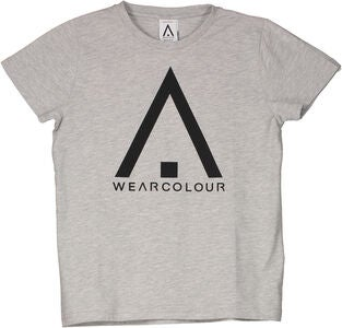 Wearcolour Patch T-Paita, Grey Melange