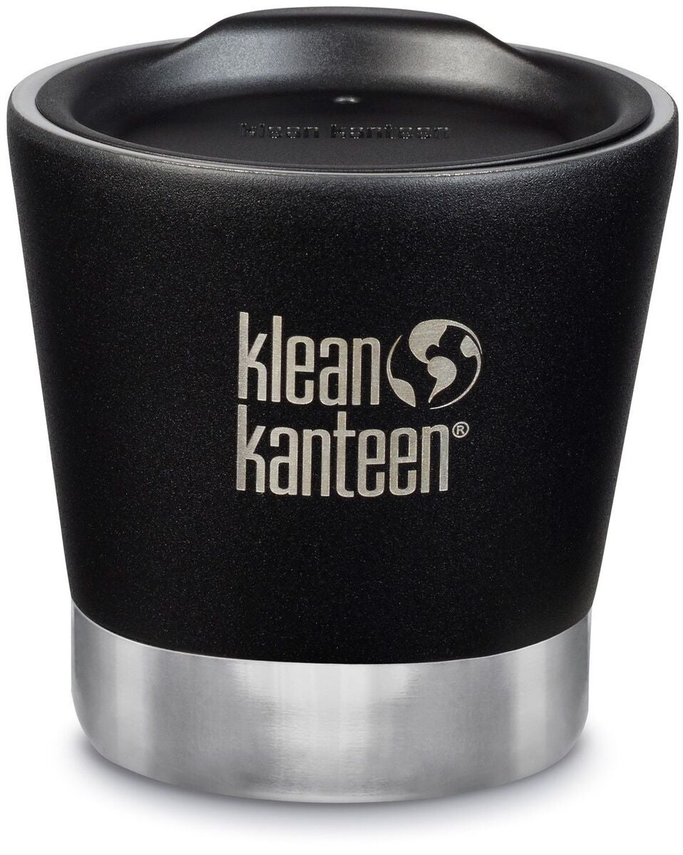 Klean Kanteen Insulated Tumbler Termosmuki + Kansi  237 ml, Shale Black
