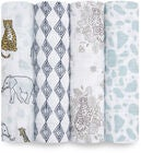 Aden + Anais Musliiniliinat Jungle 120x120 4-Pack
