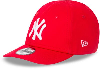 New Era League Essential 9FORTY INF NEYY Lippalakki, Front Door Red/ White