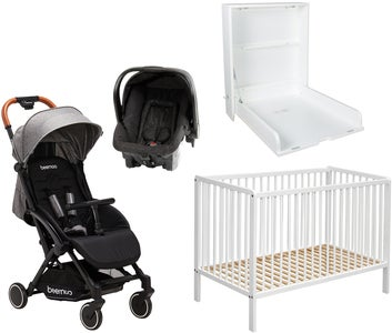 Starttipaketti Beemoo Easy Fly Lux, Grey Melange