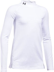 Under Armour Coldgear Mock Treenipaita, White