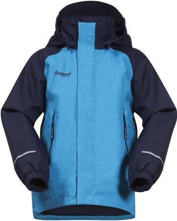 Bergans Storm Insulated Toppatakki, Polar Blue/Navy