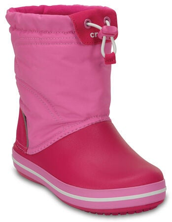 Crocs Kids Crocband LodgePoint Saappaat, Candy Pink/Party Pink