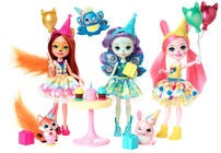 Enchantimals Figuurit Enchanted Birthday 3-pack