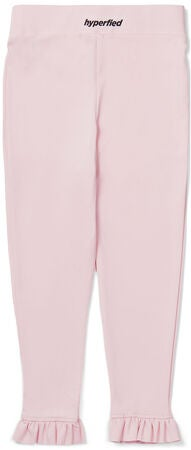 Hyperfied Frill Tights, Chalk Pink