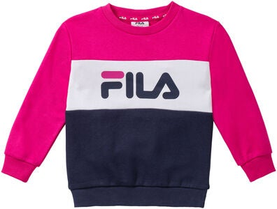 FILA Night Blocked Crew Collegepaita, Pink