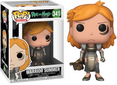 POP! Rick And Morty Keräilyhahmo Warrior Summer