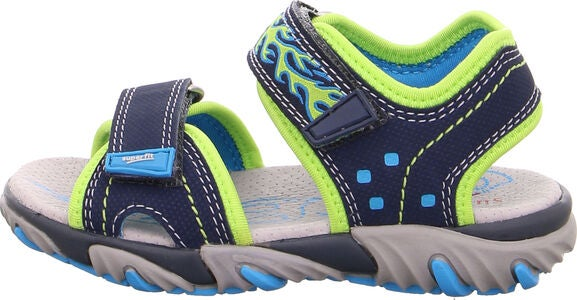 Superfit Mike2 Sandaalit, Blue/Green