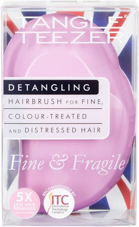 Tangle Teezer Fine and Fragile Hiusharja, Pink Dawn
