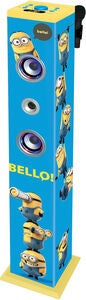Minions Bluetooth Sound Tower Tornikaiutin + Mikrofoni
