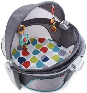 Fisher-Price On-the-Go Baby Dome Leikkikehä