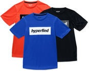 Hyperfied Edge T-Paidat 3-pack, Black/Blue/Koi