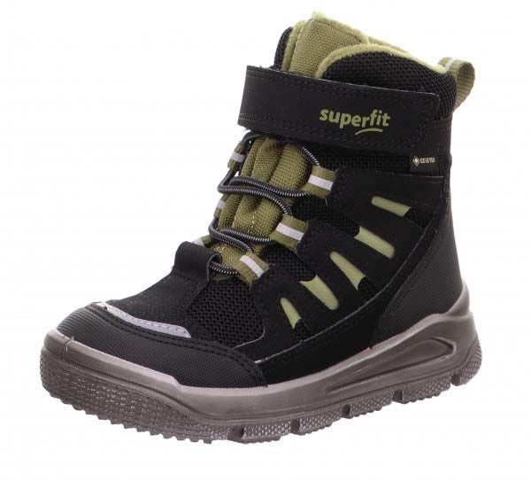 Superfit Mars GTX Talvikengät, Black/Green