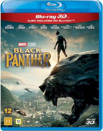 Marvel Black Panther Blu-Ray 2D + 3D