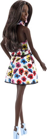 Barbie Fashionistas Nukke, Rainbow Floral
