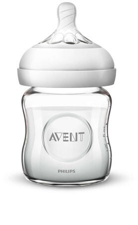Philips Avent Natural Lasinen Tuttipullosetti