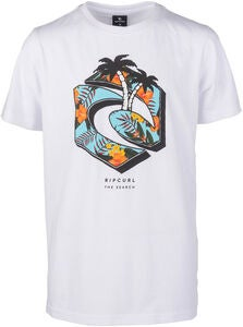 Rip Curl Gang Paradise T-Paita, Optical White