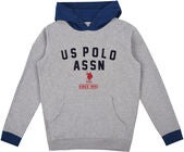 U.S. Polo Assn. American Team OTH Hoodie Huppari, Vintage Grey Heather