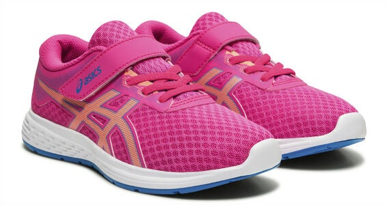 Asics Patriot 11 PS Lenkkarit, Pink Glo/Sun Coral