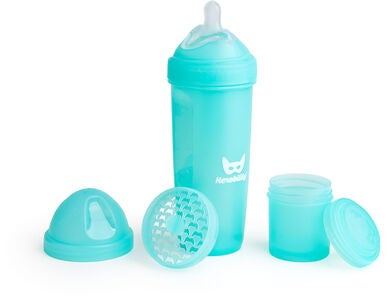 Herobility Baby Bottle Tuttipullo 340 ml, Sininen