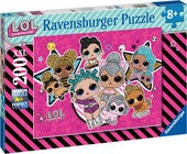 Ravensburger Palapeli L.O.L. Surprise! Girl Power 200