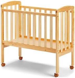 JLY Dream Bedside Crib, Natural