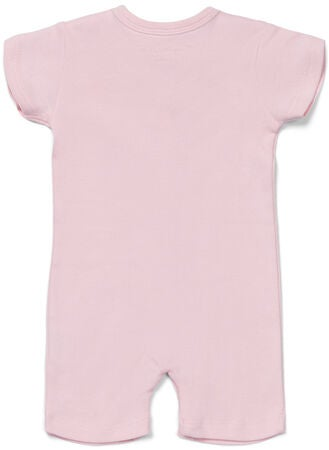 Tiny Treasure Summer Jumpsuitit 2-Pack, Pink/Flamingo