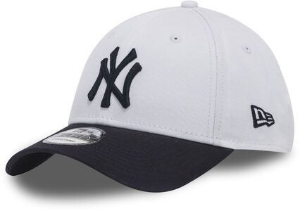 New Era Kids MLB 9Forty Kids Lippalakki, White/Navy