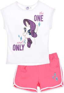 My Little Pony T-Paita & Shortsit, White