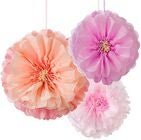 Talking Tables Pom Poms Flower Blush Mix