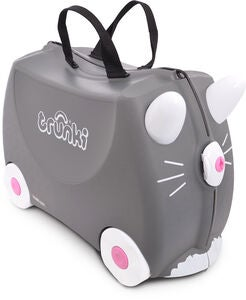 Trunki Benny The Cat Matkalaukku 18L, Grey