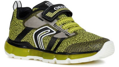 Geox Android Tennarit, Lime/Black