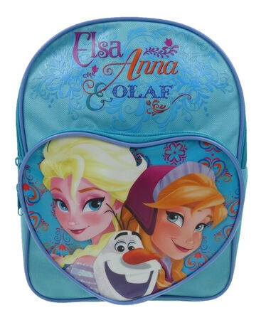 Disney Frozen Lastenreppu Heart Pocket, Sininen
