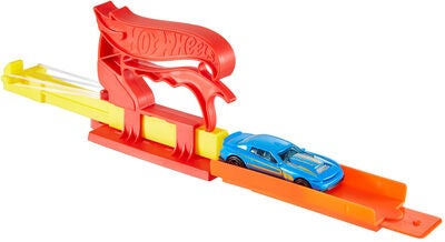 Hot Wheels Leikkisetti Pocket Launcher + Auto, Punainen