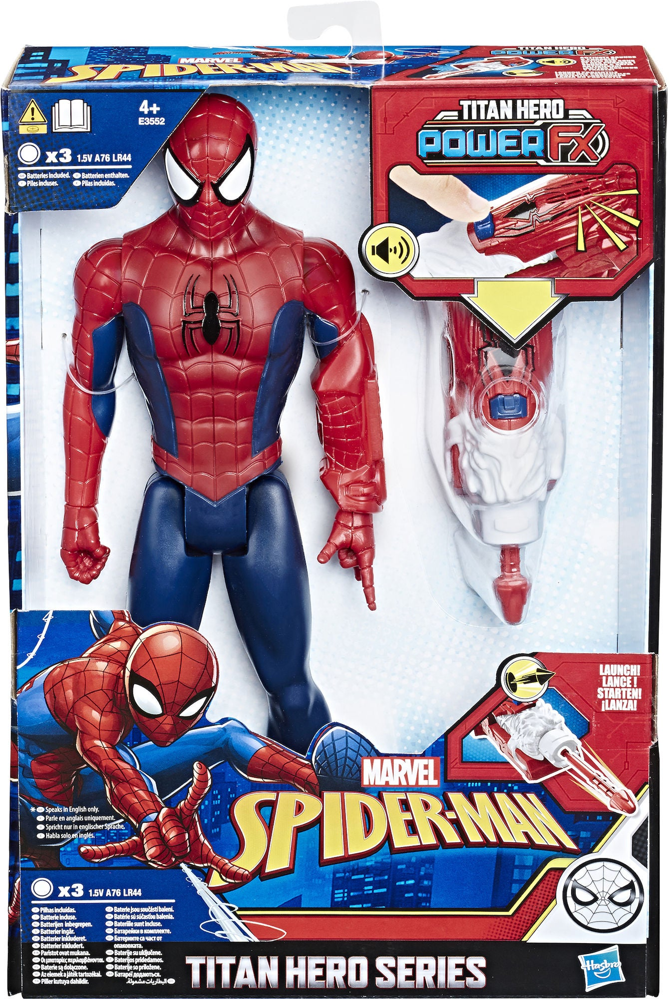 Marvel Spider-Man Titan Power Hahmo