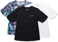 Hyperfied Wave T-Paidat 3-pack, Black/White/Tropical Flower