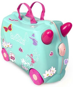 Trunki Flora The Fairy Matkalaukku 18L, Green