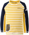 Didirksons Surf UV-Paita, Yellow Simple Stripe
