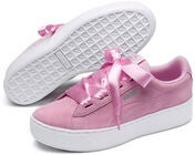 Puma Smash Vikky Platform Ribbon Jr Tennarit, Pink