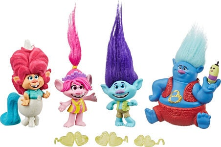Trolls Figuurit Lonesome Flats Tour
