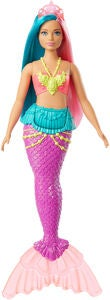 Barbie Dreamtopia Nukke Mermaid, Teal/Pinkki